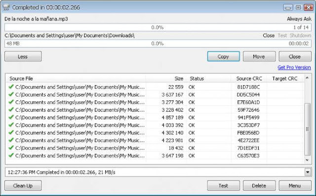 Cara Menyalin/ Copy File Besar Di Komputer