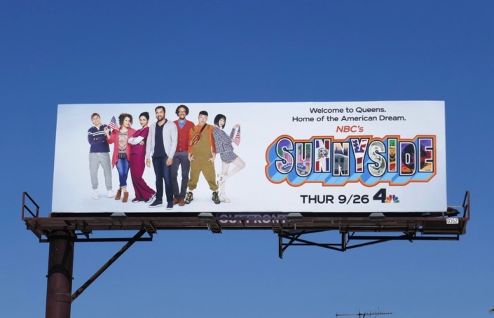 Sunnyside season 1 billboard