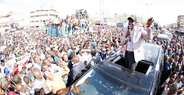 DP William Ruto in Kitengela