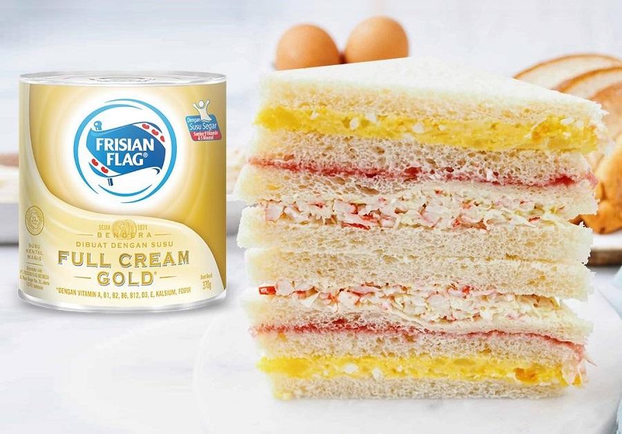 Susu Kental Manis Frisian Flag Gold
