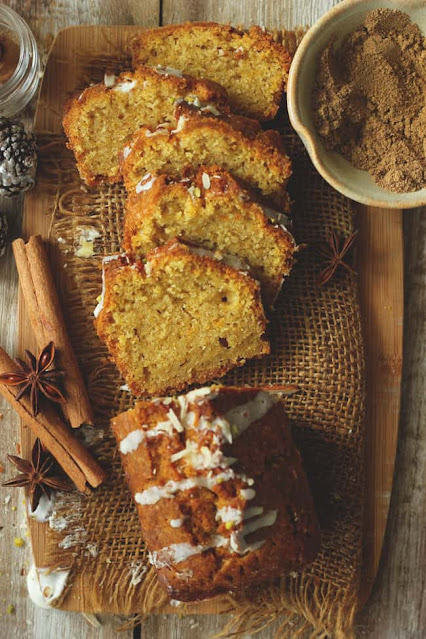 Chai Masala Pumpkin Cake
