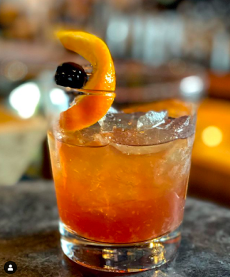 Vanilla Birch Old Fashioned at J. Lawrence in Bethel CT