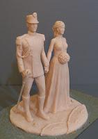 modellini personalizzati statuette matrimonio polizia sculture per anniversario orme magiche