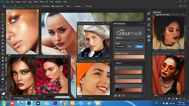 Theft of skin tone from any image in Photoshop NBP ColourmapX