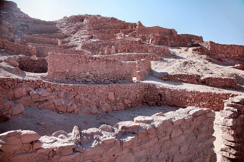 Крепость Пукара-де-Китор в пустыне Атакама