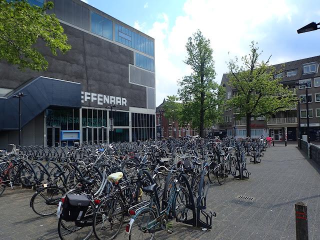 Holenderskie rowery w Eindhoven