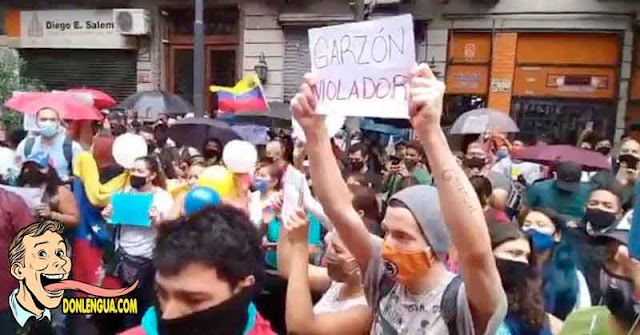 Venezolanos en Argentina protestan por la joven abusada | Pero nadie protesta por Venezuela
