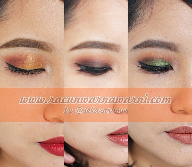 Warna Warni Autumn Make Up Look