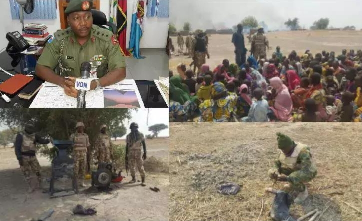 NIGERIAN TROOP FREE 666 BOKO HARAM VICTIMS