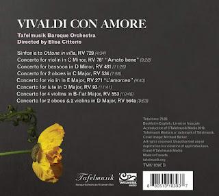 Vivaldi con amore - Tafelmusik