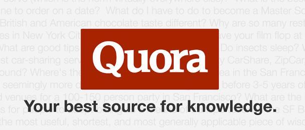 محرك بحث Quora