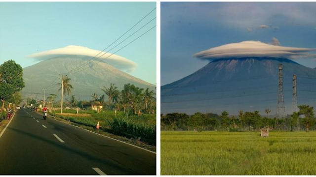Fenomena Gunung Semeru 'Bertopi' yang Viral di Sosial Media, Keren Juga Nih Kalau Buat Foto