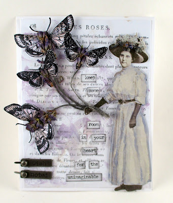 Stampers Anonymous Entomology Idea-Ology small talk Idea-Ology Story Sticks Wendy Vecchi Les Roses Tim Holz Paper Dolls Archival ink Watering Can For the Funkie Junkie Boutique