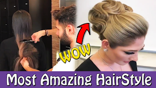 Most Amazing Hairstyle and Cutting You Never Seen before!