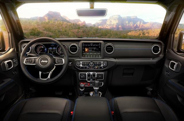 Jeep Wrangler 4xe Interior