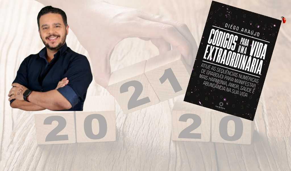 Autor do livro Códigos para uma vida extraordinária, Diego Araújo compartilha os ensinamentos de Grigori Grabovoi para que você possa encontrar a fonte da abundância e da felicidade em 2021
