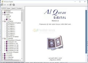 Al-Qur-an Digital Untuk PC