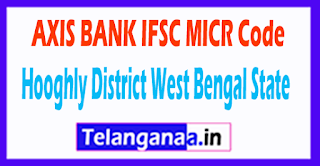 AXIS BANK IFSC MICR Code Hooghly District West Bengal State