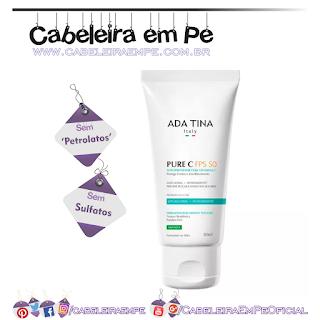 Protetor Solar Pure C FPS50 - Ada Tina (Sem Sulfatos e Sem Petrolatos)
