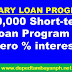 P60,000 short-term loan with zero interest program now accepting applicants