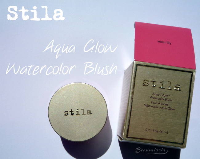 Stila Aqua Glow Watercolor Blush in Water Lily: review, photos, swatches