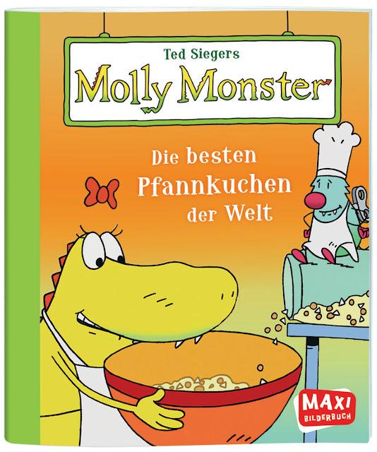 Ted Siegers Molly Monster Die besten Pfannkuchen der Welt Monster Kinderbuch Kinderbücher