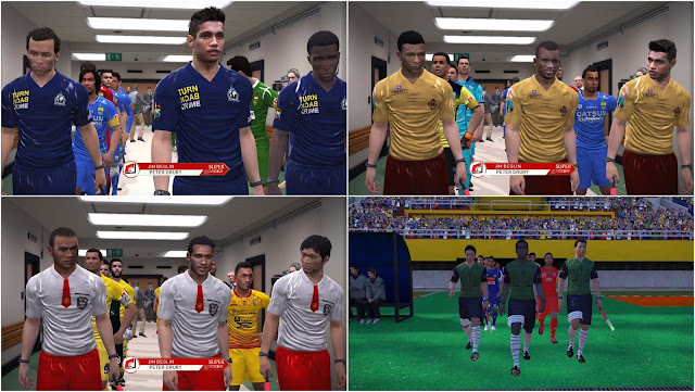 PES 2017 Turn Back Crime & SD Kit Pack dari Hbn