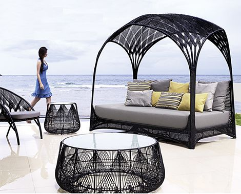 daybed modelleri- yazın bahçelerin en güzel mobilyası daybed