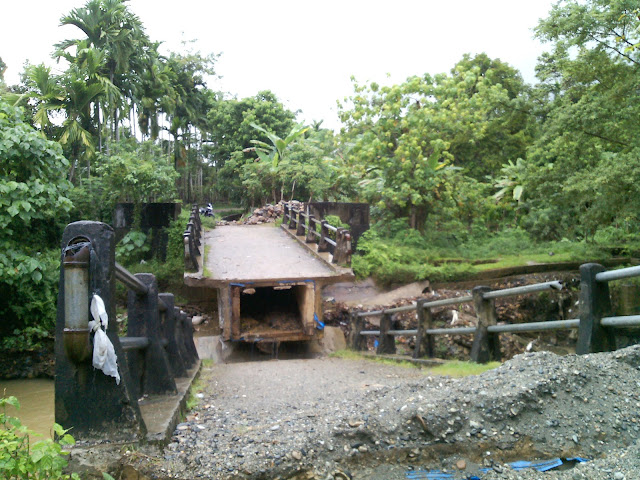Petani di Abdya Terancam Jika Jembatan Krueng Suaq Tidak Segera Diperbaiki
