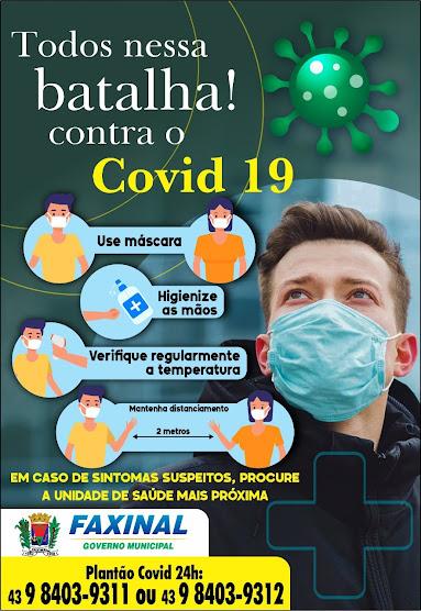 FAXINAL - A Pandemia não acabou