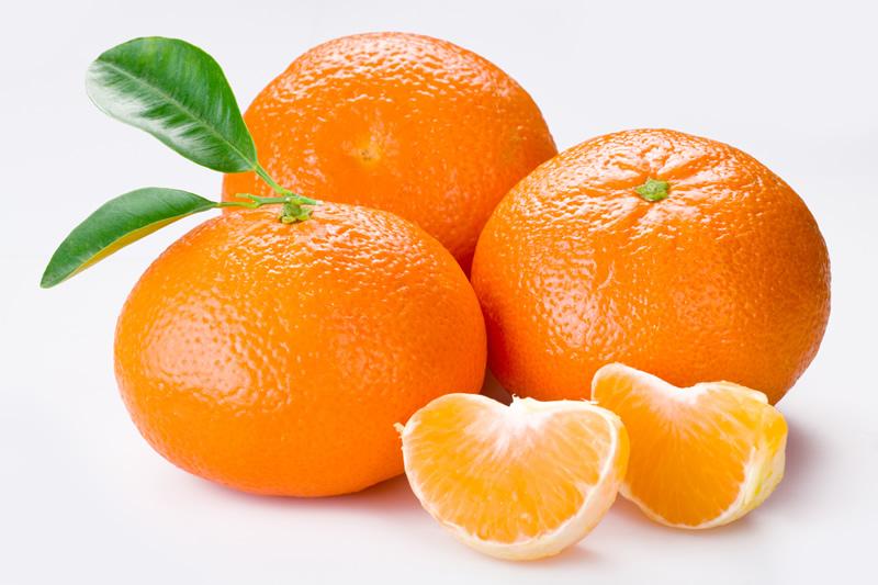 las mandarinas producen gases