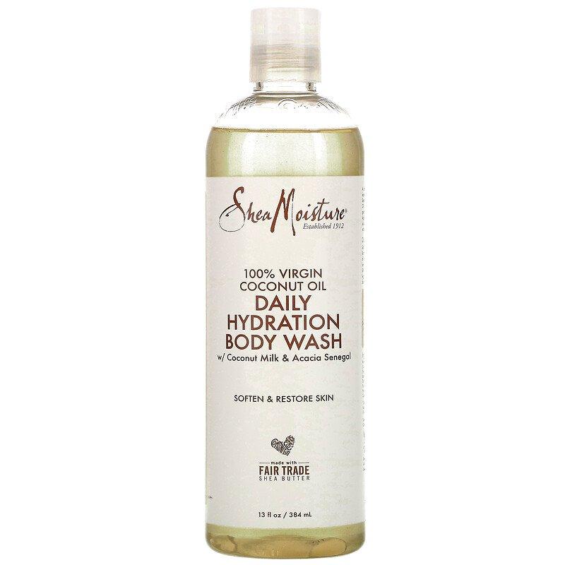 SheaMoisture, 100% Virgin Coconut Oil, Daily Hydration Body Wash, 13 fl oz (384 ml)