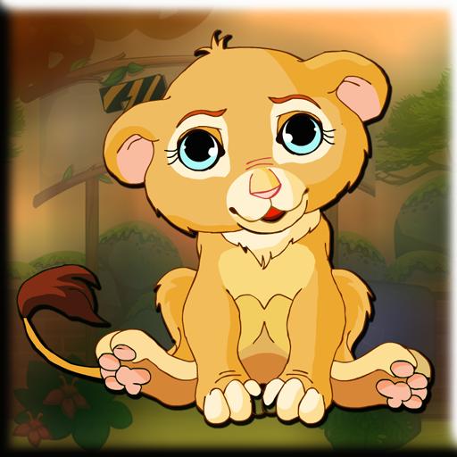 Games2Jolly - Lion Cubby Escape