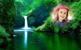 Waterfall Collage Photo Editor