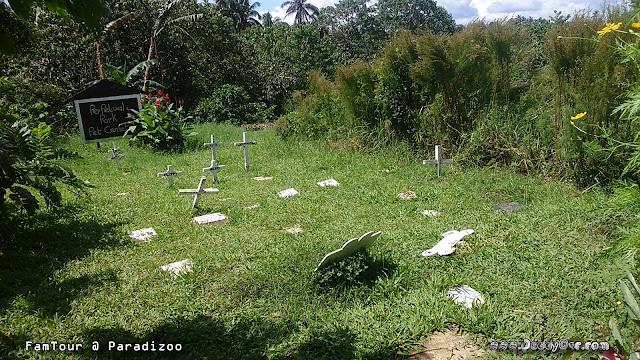 Perpetual Park Pet Cemetery at PARADIZOO, Mendez Cavite