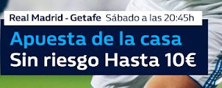 william hill promocion Real Madrid vs Getafe 3 marzo