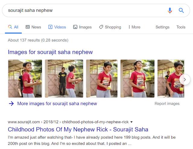 Sourajit Saha on Google 3