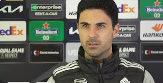 'We looked a threat all the time': Arteta reacts crucial victory over Slavia Prague