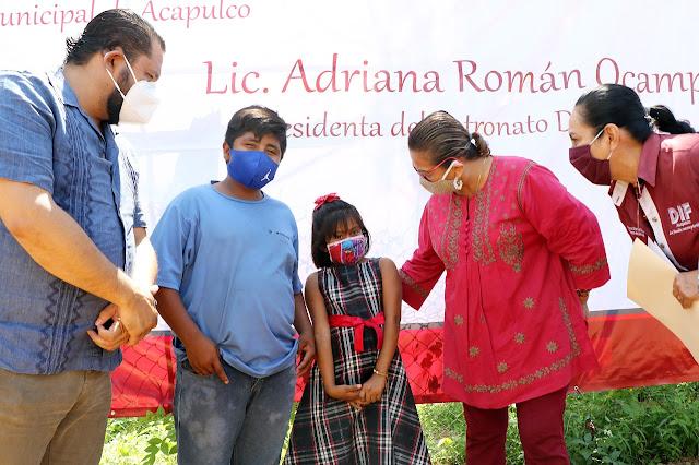 Gobierno de Adela Román: humanitario, sensible y comprometido con Acapulco