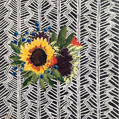 Lacey Craig | Sunflower II | 24 x 24 | $240