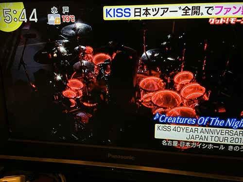 キッス2015ジャパン・ツアー エリック・シンガー