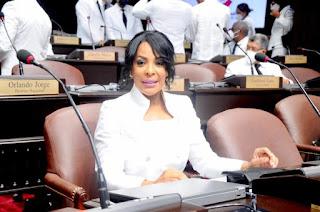 Diputada de Ultramar Lily Florentino desmiente al legislador Julio Cesar López sobre proyecto de resolución