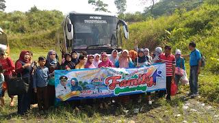 Family Gathering ke Curug Bidadari - Sentul Paradise Park