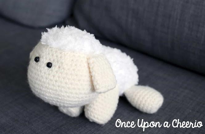 Cuddle-Size Sheep Lamb Amigurumi Free Crochet pattern