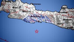 Pangandaran, Bergetar Ringan Gempa Bumi M 4,7