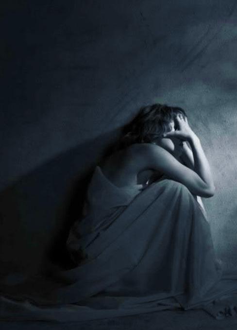 depressed girl profile dp