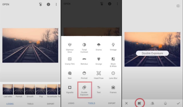 How To Add Two photos In Snapseed