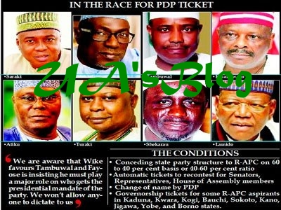 2019: PDP Summons Atiku, Makarfi And Others As Reformed-APC Members Plan To Join Party
