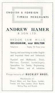 Andrew Hamer & Son Ltd., Bradshaw