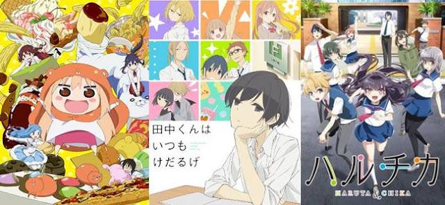 anime genre slice of life yang bagus, anime slice of life terbaru 2017 2018 2019 2020
